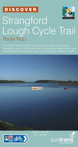 Ncn Strangford Lough Cycle Trail 1:100d