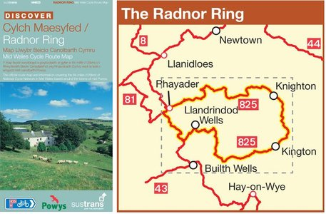 Nn825 Radnor Ring Cycle Route Mid-wales
