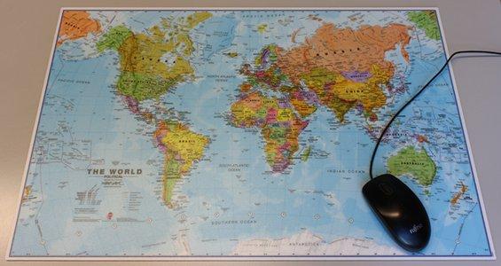 World Mouse Mat