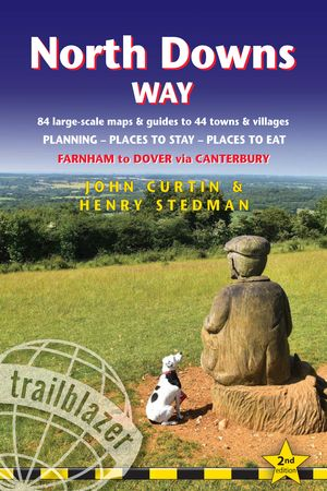 North Downs Way (trailblazer British Walking Guide)