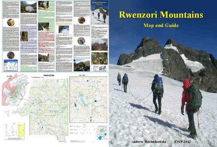 Rwenzori, Map And Guide 1:50.000