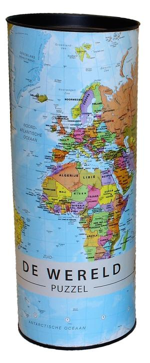 Wereld puzzel