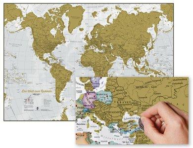 Welt zum Rubbeln DE mi