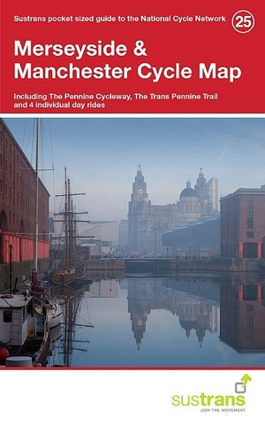 25 Merseyside Cycle Map 1/110d