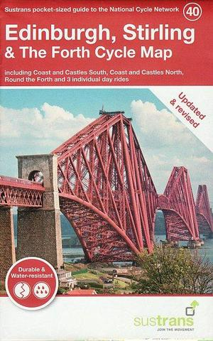 40. Edinburgh, Stirling & The Forth Cycle Map Cycle Map