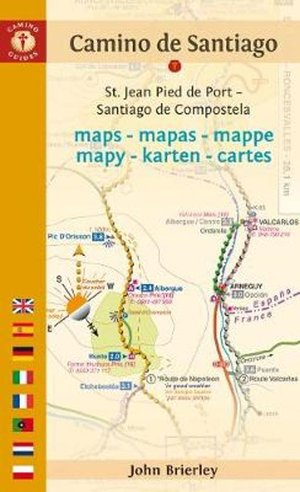 Camine De Santiago Maps - Tenth Edition