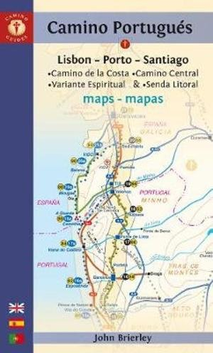 Camino Portugues Maps - Sixth Edition