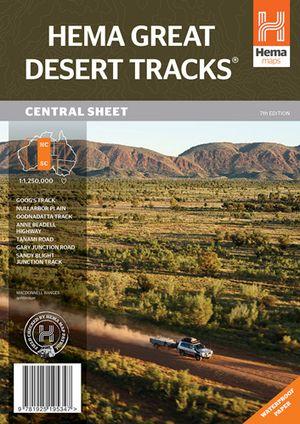 Hema Great Desert Tracks Central Sheet