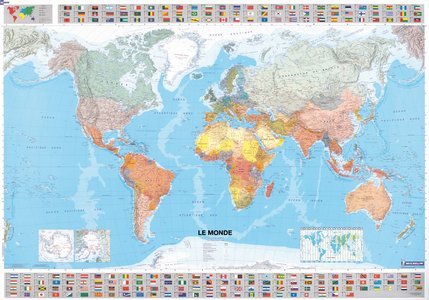 Ct.12702 Monde Papier Plano