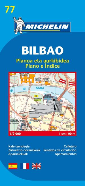 Bilbao - Michelin City Plan 77