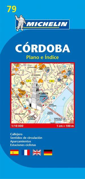 79 Michelin - Cordoba Aa Plattegrond