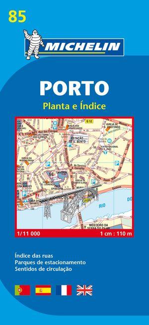 85 Michelin - Porto Stadsplattegrond