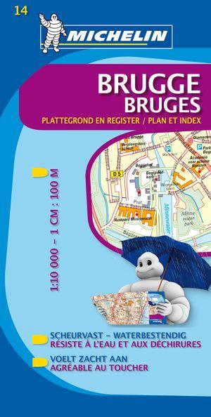 14 Michelin - Brugge Plattegrond