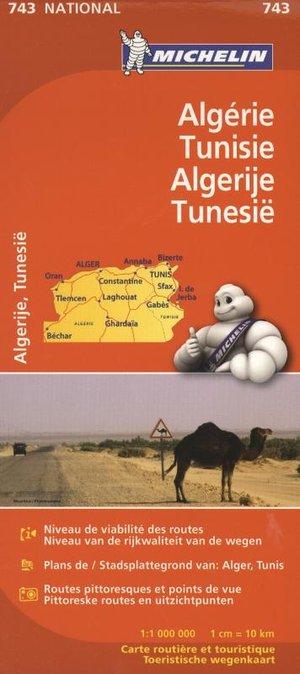 Algerije / Tunesië Michelin 743
