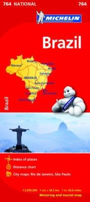 Brazilie Michelin National 764