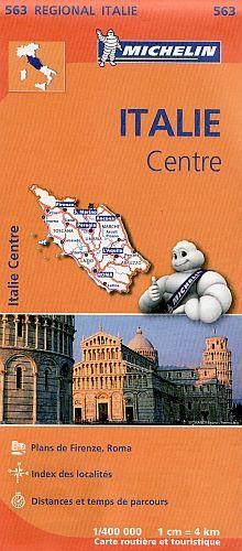 Michelin 563 Italie Centre