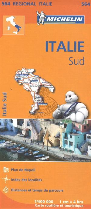 Michelin 564 Italie Sud