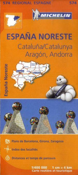 574 España Noreste: Cataluña/Catalunya, Aragón, Andorra
