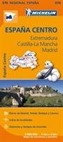 Extremadura, Castilla La Mancha, Madrid - Michelin Regional Map 576