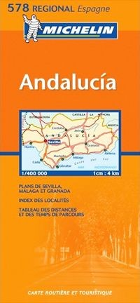 Michelin 578 Andalucia Espana
