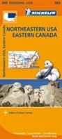 Northeastern Usa, Eastern Canada - Michelin Regional Map 583
