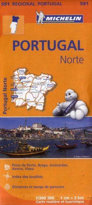 Portugal Norte 591 Michelin Regional 591
