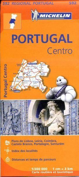 Portugal Centro 592 Michelin Regional
