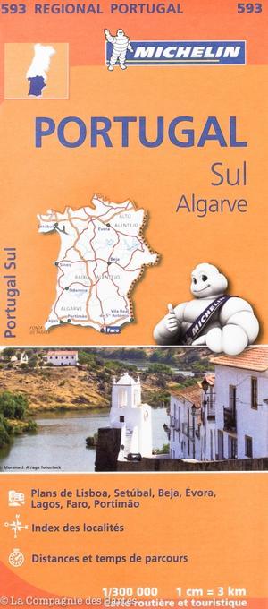 593 Michelin Portugal Sul Algarve 1:300d