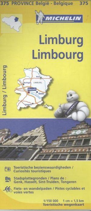 375 Michelin - Limburg Wegenkaart - 1:150.000