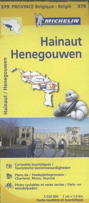 Henegouwen Hainaut 1:150d Michelin 379