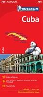 Cuba - Michelin National Map 786