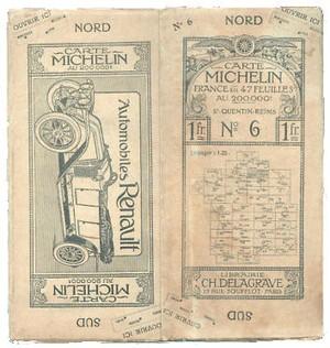 Sain-quentin - Reims Centenary Maps