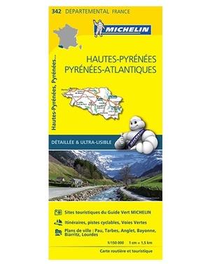 Hautes Pyrenees 342 Michelin Local Frank
