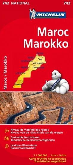 Maroc Michelin 742 Marokko