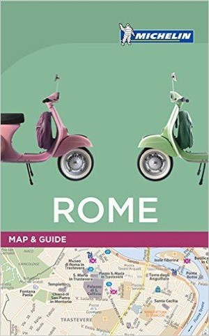 Rome Map & Guide Michelin