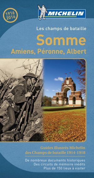 Somme, Amiens, Peronne Michelin Frans