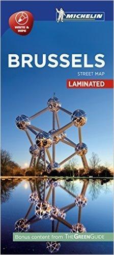 Michelin Brussel Gelamineerde Stadsplattegrond