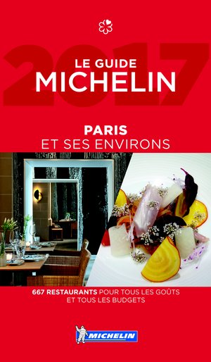 Paris 2017 Michelin Guide Rouge