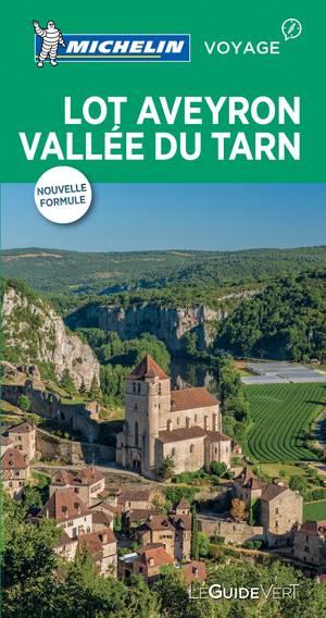 Lot , Aveyron ,vallee Du Tarn Reisgids - Le Guide Vert Michelin