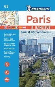 Parijs & omg., per arrondissement atlas zakformaat