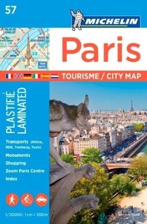 Michelin 57 - Paris Tourisme - 1:20.000