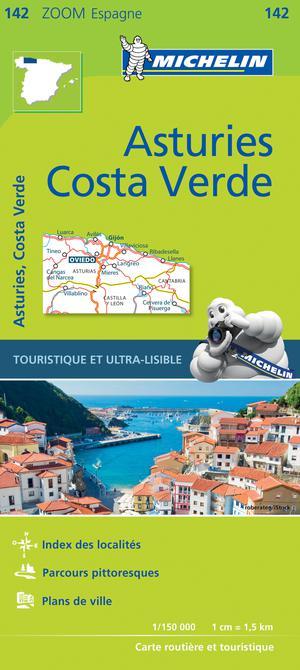142 Michelin Zoom Asturias, Costa Verde
