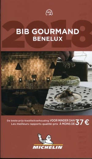 Michelin Bib Gourmand Benelux 2018
