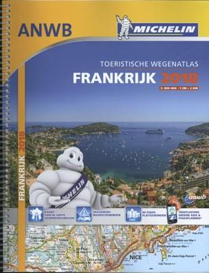 Michelin Frankrijk France Atlas 1:200d 2018