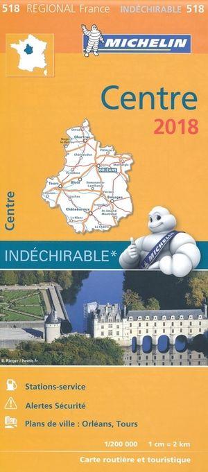 518 Michelin Centre France 1:200d