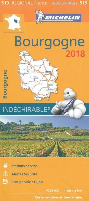 519 Michelin Bourgogne 1:200d 2018