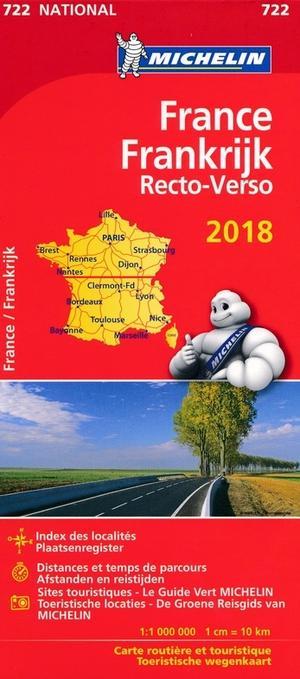 Frankrijk Recto-verso 722 National 2018
