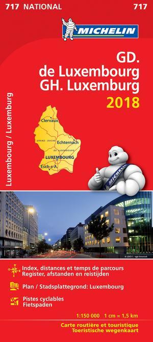 717 Michelin Groot Hertogdom Luxemburg 2018