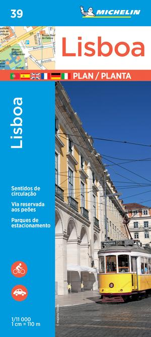 Michelin Lisbon Map 39