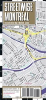 Streetwise Montreal Map - Laminated City Center Street Map Of Montreal, Canada